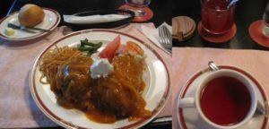 ロシア料理店「バラライカ」のランチ