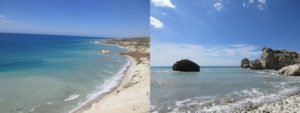 ペトラトゥロミウの海岸