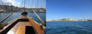 マルタでボートクルーズ