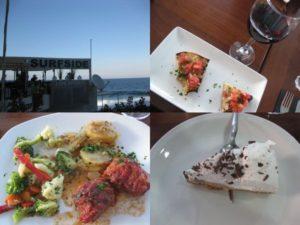 マルタのレストランで夕食