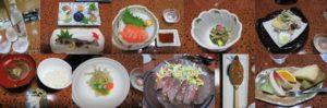 藤乙の夕食
