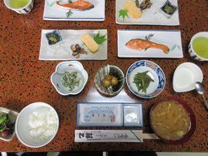 藤乙の朝食