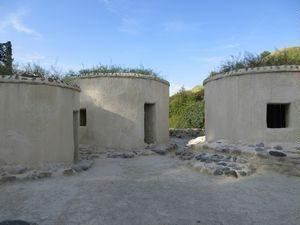 ヒロキティアの円筒形住居