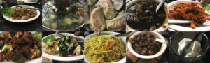 中華レストランで夕食