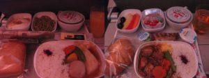 エミレーツ航空の機内食