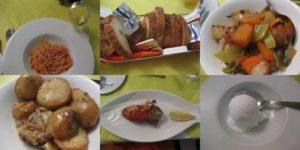 マルタのレストランで昼食