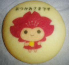 ピンクルちゃんのクッキー