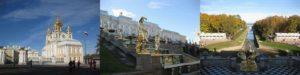 ペテルゴフ宮殿(ピョートル大帝の夏の宮殿)