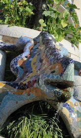 グエル公園のトカゲ