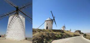 コンスエグラの白い風車群