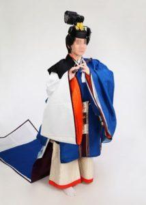 闕腋の袍で初めての男装