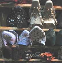 革製品のお店