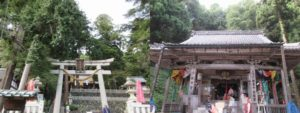 赤後寺・日吉神社