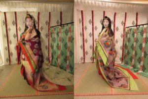 斎王代と典侍の衣装比較