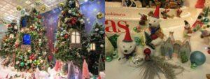 JR名古屋高島屋のクリスマスツリー