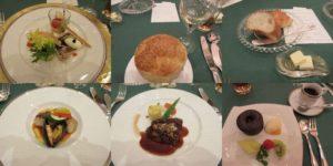 グランドティアラ安城のお料理
