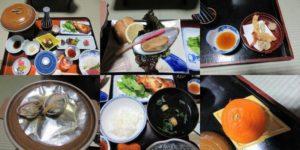 麻野館の夕食