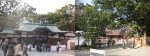 上知我麻神社と別宮八剣宮