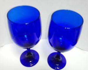 青色のグラス