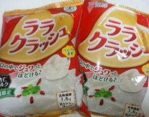 ララクラッシュ 杏仁ミルク味