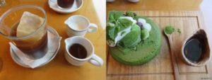 「嵯峨野湯(SAGANO-YU)」のパンケーキ
