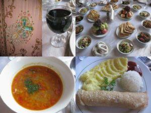 「トザボーグ・パレス」で夕食