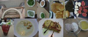 イタリアンレストランで昼食