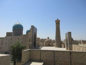 カラーン・モスク、カラーン・ミナレット、ミル・アラブ・メドレセ