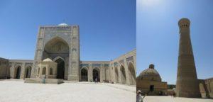 カラーン・モスク、カラーン・ミナレット
