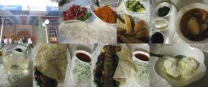 ロシア料理のレストラン