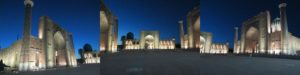 レギスタン広場の夜景
