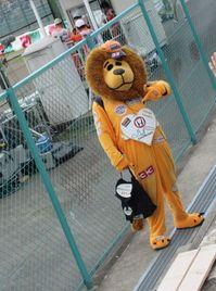 謎のライオン
