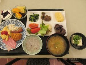 西村屋ホテル招月庭の朝食