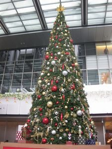 名古屋駅にあったクリスマスツリー