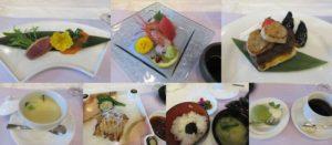 サイプレスガーデンホテルの和食ランチ