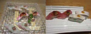 「たつみ寿司」のランチコース