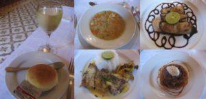 宮殿ホテル「アムルーディーナー」で昼食