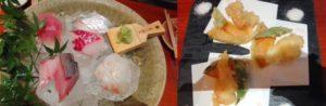 KITTE内の「魚匠 銀平」で昼食
