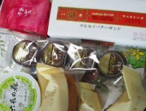 「六花亭」のお菓子