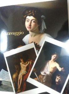 名古屋市美術館「カラヴァッジョ展」の図録